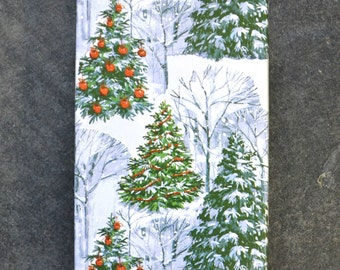 Winter in the Evergreen Forest Christmas Wrapping Paper, 2 x 10 Feet