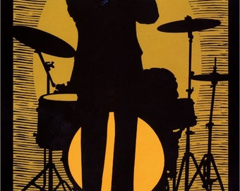 New Orleans Jazz Louisiana United States of America Vintage Travel Advertisement Art Poster Print