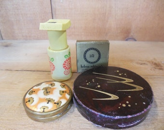 Vintage Cosmetic Compacts Avon Bottle