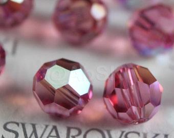 Promotion Item - 120pcs Swarovski Elements 5000 4mm Crystal Round Beads - ROSE AB (While Stocks Last)