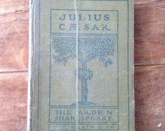Sale Item - Journal, Julius Caesar vintage Shakespeare Journal