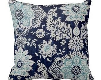 pillows, pillow covers, blue throw pillows, euro shams, decorative pillows, floral pillows, lumbars, home decor, decor, designer pillows