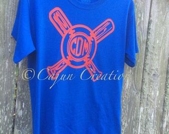 "Shop ""monogram baseball tee"" in Boys' Clothing"