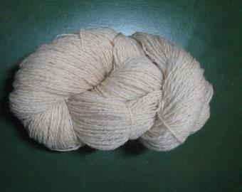 Hand Spun Rambouillet Sheep Wool Skein