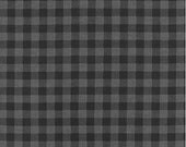 Charcoal Plaid from Robert Kaufman's Burly Beaver Collection by Andie Hanna