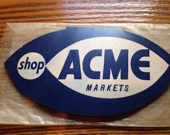 Vintage ACME Market Sewing Kit