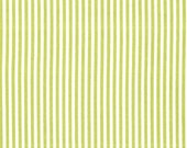 Michael Miller fabric for quilt or craft Little Stripe in Kryptonite Half Yard