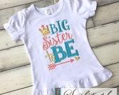 Big Sister To Be Shirt  - You Customize