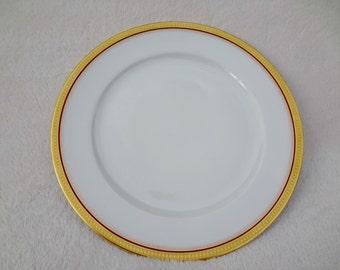 Vintage Hutschenreuther Selb Bavaria Gold Dinner Plate