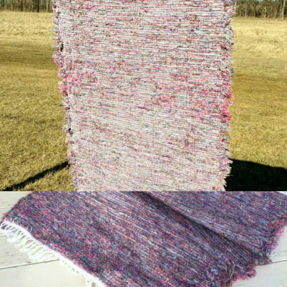Amish alfombra de trapo trapo multicolor de por for Alfombra en ingles como se escribe