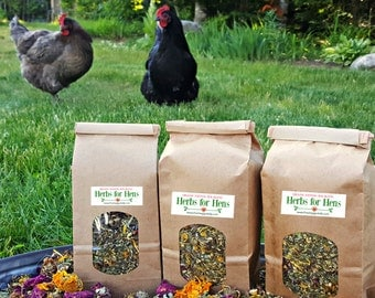 1/4 lb. (4 oz.) Herbs for Hens Chicken Nesting Box Aromatherapy Organic Herbal Blend Dried Mint Lavender Rosebuds Chamomile