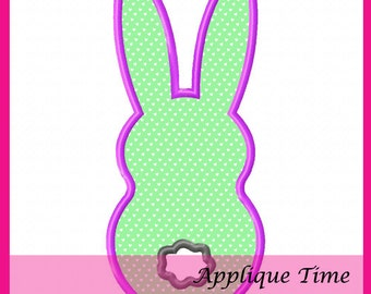 Instant Download Single Marshmallow Bunny Tail Machine Embroidery Applique Design 4x4, 5x7 and 6x10