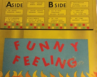 Funny Feeling Burning Sounds compilation Straight Roots Lovers Rock JA