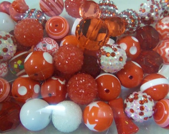 Destash, 18mm plus Beads, Paired, 50 beads or more, 50L