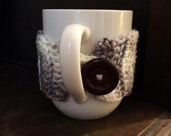 Crochet Tea Cozy, Coffee Cup Sleeve, Coffee Sleeve, Mug Cozy