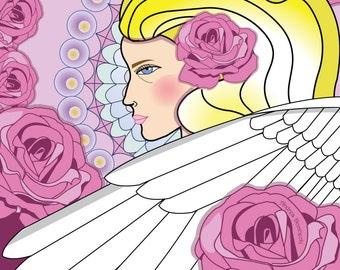 Angel of Love Print