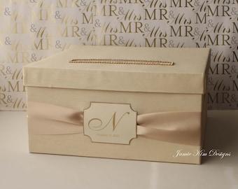 Wedding Card Money Box - Custom Made to Order