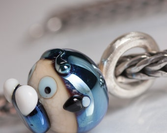 GlassBonBon  SRA Lampwork Bead fits all kinds of european charm bracelets BHB