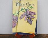 Vintage Pillow Cases Decorative Crochet Book No 264