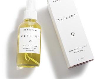 Citrine Body Oil