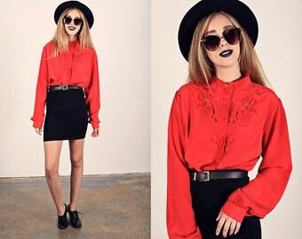 80s Bodycon Skirt Vintage Black Crinkle Fitted Skirt