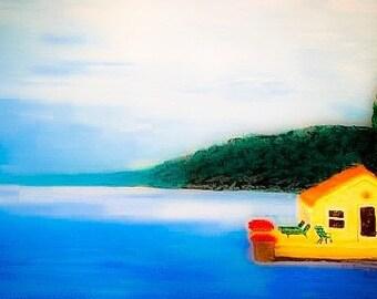 "Digital Download Skaneateles Lake ""Cottage"""