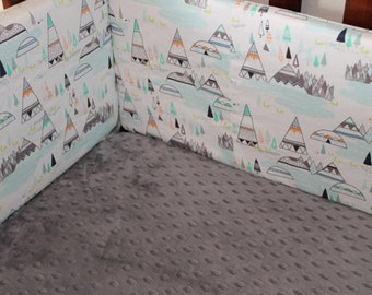 Ready to Ship: Gray Crib Sheet , Flannel, Cotton, or Minky