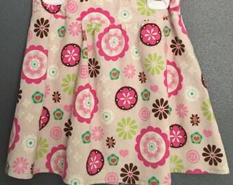 Size 5 Girls Skirt, Corduroy Skirt, Girls Fashion