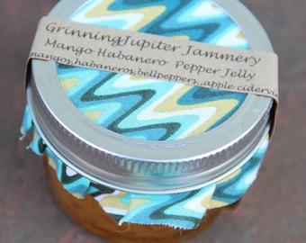 Homemade Mango Habanero Jelly - 4oz jar