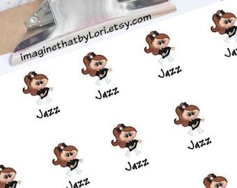 Jazz dance planner sticker
