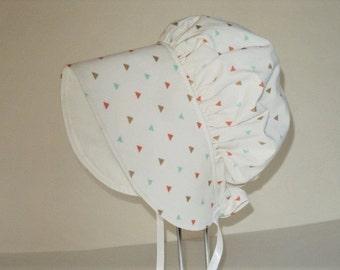 Baby Bonnet - Baby Sun Bonnet - Baby Sun Hat - Baby Gift - Summer Hat - Baby Cap - Newborn Hat - Baby Hat - Girls Bonnet - Made To Order