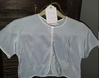 Vintage Baby Grey Shrug or Caplet