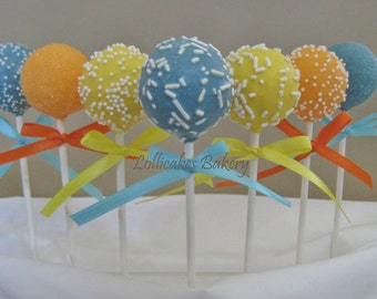 Beach Wedding, Cake Pops Made to Order with High Quality Ingredients, 1 Dozen Cake Pops