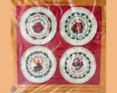 Christmas Embroidery, Jar Toppers, Creative Circle, 2222, Embroidery Kit, Crewel Embroidery
