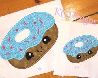 Cheat Day Donut Machine Applique Embroidery Design - 4x4, 5x7 & 6x8
