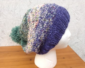 """PATTERN - """"New Directions"""" Slouch Hat Pattern - Knit"""