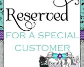 Reserved for Lottie