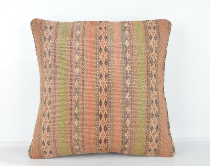 Decorative Pillows, KP743, Designer Pillows, Kilim pillow, Bohemian Decor, Wool Pillow,  Bohemian Pillow, Accent Pillows, Throw Pillows