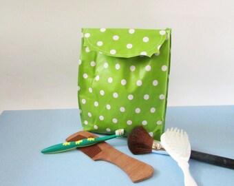 Make-up brushes Diaper bag Travel bag Oilcloth bag Cosmetic Bag Toiletry Bag.