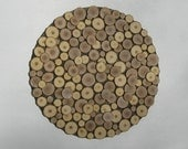 Wood Slice Wall Art, Rustic, Wood Wall Art, Abstract, Sculpture,Sliced Wood, Circles Large Tree Rings Branch Modern  Round Brown