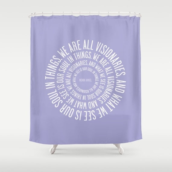 Items Similar To 36 Colours, What We See Quote Shower