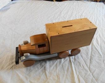 bank truck w/6 wheels