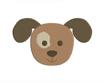 Instant download fun dog embroidery design machine