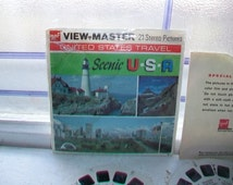 9 Vintage Viewmaster Reels of Scenic USA Mt. Rushmore and Black Hills 1970s