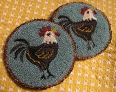 Primitive Punchneedle Everywhere a Chick Pattern & Kit