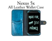 Nexus 5x Leather Wallet C...