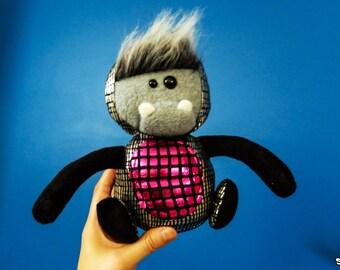 Pink Mini Robodinosquatch Plush
