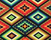 Southwest Fabric, Ojo De Dios by Alexander Henry, Tribal Fabric, Mexican Fabric, Horse Blanket Cotton Fabric, 145540