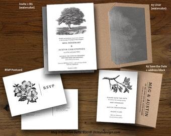 MEG Invitation Suite Printables