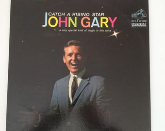 """Vintage John Gary Album """"Catch A Rising Star"""" A Special Kind of Magic In This Voice  RCA Victor Dynagroove Recording LSP 2745"""